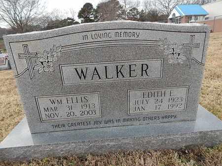 WALKER, EDITH E - Knox County, Tennessee | EDITH E WALKER - Tennessee Gravestone Photos