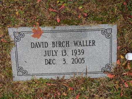 WALLER, DAVID BIRCH - Knox County, Tennessee   DAVID BIRCH WALLER - Tennessee Gravestone Photos