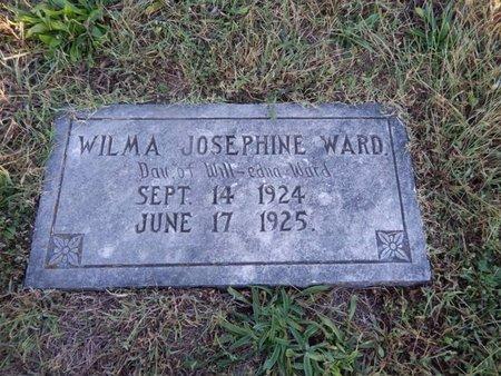 WARD, WILMA JOSEPHINE - Knox County, Tennessee | WILMA JOSEPHINE WARD - Tennessee Gravestone Photos