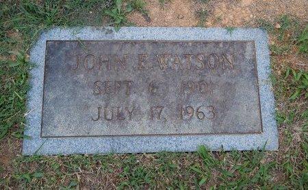 WATSON, JOHN E - Knox County, Tennessee   JOHN E WATSON - Tennessee Gravestone Photos