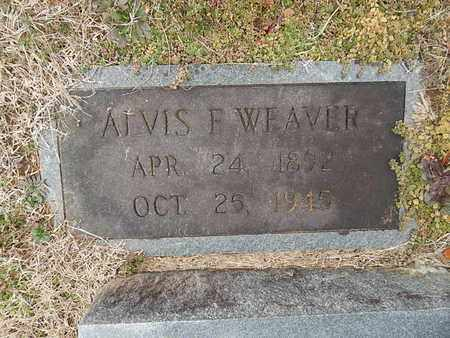 WEAVER, ALVIS F - Knox County, Tennessee | ALVIS F WEAVER - Tennessee Gravestone Photos