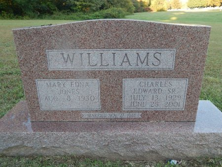 WILLIAMS, CHARLES EDWARD SR - Knox County, Tennessee | CHARLES EDWARD SR WILLIAMS - Tennessee Gravestone Photos