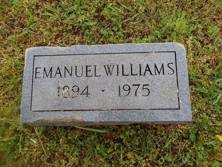 WILLIAMS, EMANUEL - Knox County, Tennessee   EMANUEL WILLIAMS - Tennessee Gravestone Photos