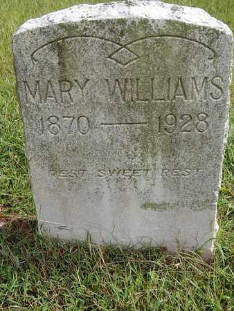 WILLIAMS, MARY - Knox County, Tennessee | MARY WILLIAMS - Tennessee Gravestone Photos