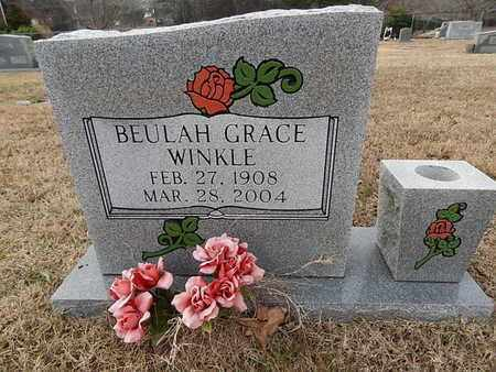 WINKLE, BEULAH GRACE - Knox County, Tennessee | BEULAH GRACE WINKLE - Tennessee Gravestone Photos