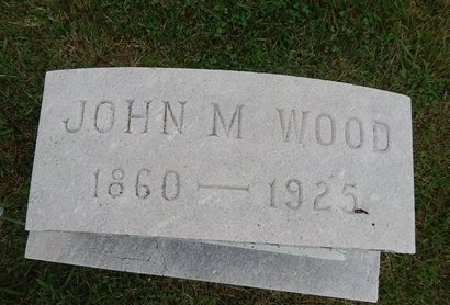 WOOD, JOHN M - Knox County, Tennessee | JOHN M WOOD - Tennessee Gravestone Photos
