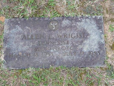 WRIGHT (VETERAN), ALLEN L - Knox County, Tennessee | ALLEN L WRIGHT (VETERAN) - Tennessee Gravestone Photos
