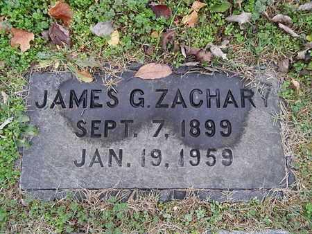 ZACHARY, JAMES G - Knox County, Tennessee   JAMES G ZACHARY - Tennessee Gravestone Photos
