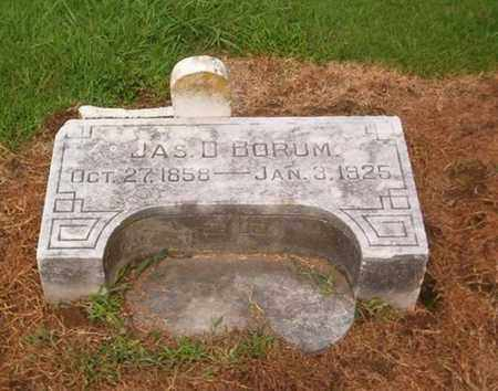 BORUM, JAMES D - Lauderdale County, Tennessee | JAMES D BORUM - Tennessee Gravestone Photos