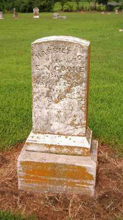CARRIGAN COOKE, HARRIET - Lauderdale County, Tennessee | HARRIET CARRIGAN COOKE - Tennessee Gravestone Photos
