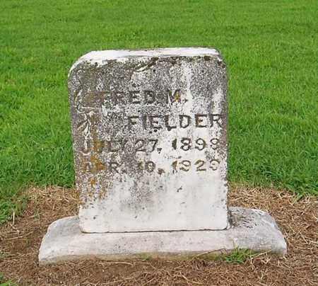 FIELDER, FRED M - Lauderdale County, Tennessee | FRED M FIELDER - Tennessee Gravestone Photos