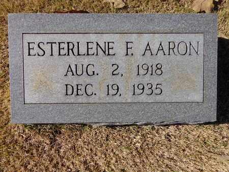 AARON, ESTERLENE F - Lawrence County, Tennessee   ESTERLENE F AARON - Tennessee Gravestone Photos