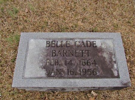 CADE BARNETT, BELLE - Lawrence County, Tennessee | BELLE CADE BARNETT - Tennessee Gravestone Photos
