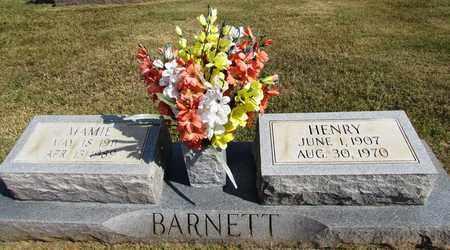 BARNETT, HENRY - Lawrence County, Tennessee | HENRY BARNETT - Tennessee Gravestone Photos