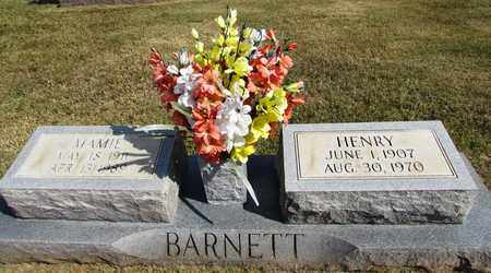 BARNETT, MAMIE - Lawrence County, Tennessee | MAMIE BARNETT - Tennessee Gravestone Photos