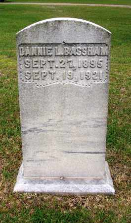 BASSHAM, DANNIE L. - Lawrence County, Tennessee | DANNIE L. BASSHAM - Tennessee Gravestone Photos