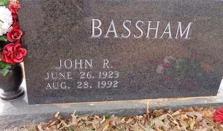 BASSHAM, JOHN R. - Lawrence County, Tennessee | JOHN R. BASSHAM - Tennessee Gravestone Photos