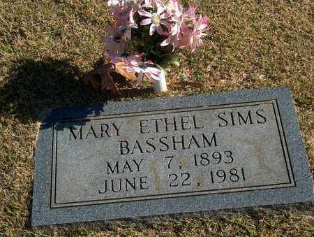 BASSHAM, MARY ETHEL - Lawrence County, Tennessee | MARY ETHEL BASSHAM - Tennessee Gravestone Photos