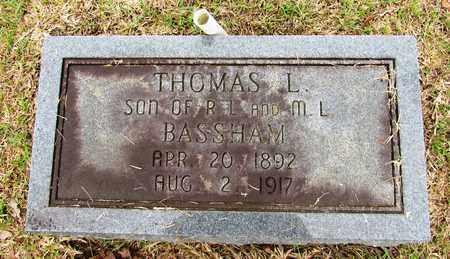 BASSHAM, THOMAS L. - Lawrence County, Tennessee | THOMAS L. BASSHAM - Tennessee Gravestone Photos