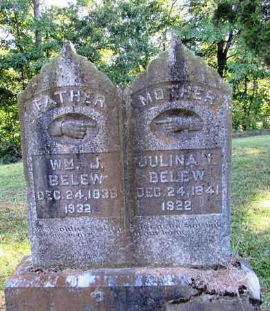 BELEW, WM. J. - Lawrence County, Tennessee | WM. J. BELEW - Tennessee Gravestone Photos