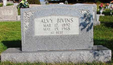 BIVINS, ALVY - Lawrence County, Tennessee | ALVY BIVINS - Tennessee Gravestone Photos