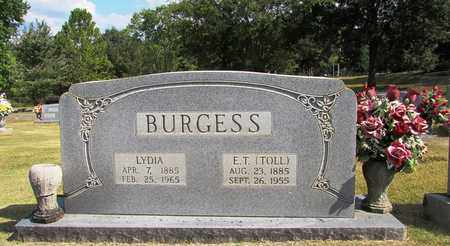 BURGESS, E. T. (TOLL) - Lawrence County, Tennessee | E. T. (TOLL) BURGESS - Tennessee Gravestone Photos