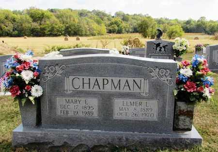 CHAPMAN, ELMER L. - Lawrence County, Tennessee | ELMER L. CHAPMAN - Tennessee Gravestone Photos