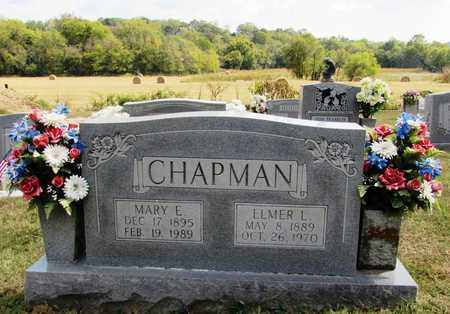 CHAPMAN, MARY E.. - Lawrence County, Tennessee | MARY E.. CHAPMAN - Tennessee Gravestone Photos