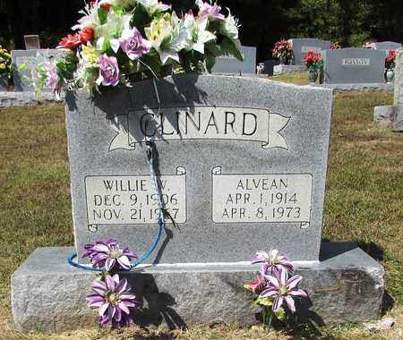 CLINARD, WILLIE W. - Lawrence County, Tennessee | WILLIE W. CLINARD - Tennessee Gravestone Photos
