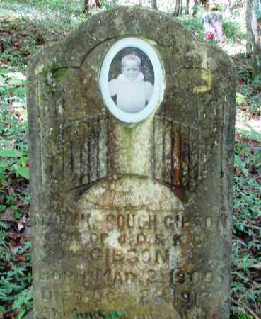 GIBSON, MARVIN COUCH - Lawrence County, Tennessee | MARVIN COUCH GIBSON - Tennessee Gravestone Photos