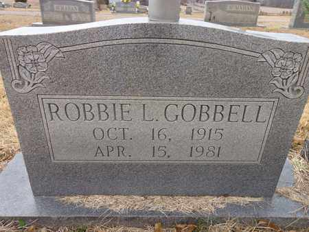 GOBBELL, ROBBIE L. - Lawrence County, Tennessee | ROBBIE L. GOBBELL - Tennessee Gravestone Photos