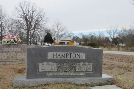 HAMPTON, W. MARVIN - Lawrence County, Tennessee | W. MARVIN HAMPTON - Tennessee Gravestone Photos