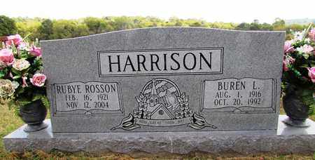 HARRISON, BUREN L. - Lawrence County, Tennessee | BUREN L. HARRISON - Tennessee Gravestone Photos