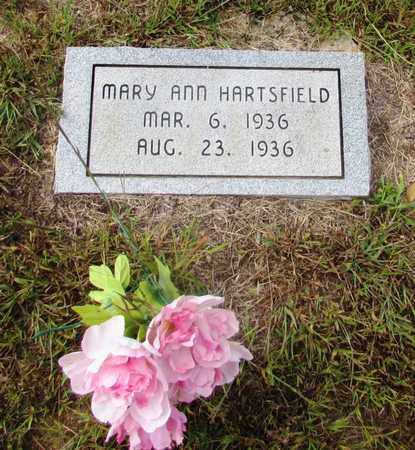 HARTSFIELD, MARY ANN - Lawrence County, Tennessee | MARY ANN HARTSFIELD - Tennessee Gravestone Photos