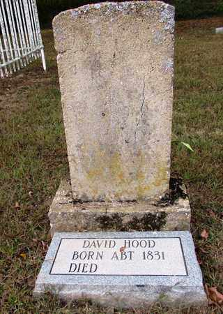 HOOD, DAVID - Lawrence County, Tennessee | DAVID HOOD - Tennessee Gravestone Photos