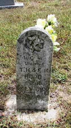 HOOD, INFANT DAUGHTER - Lawrence County, Tennessee | INFANT DAUGHTER HOOD - Tennessee Gravestone Photos