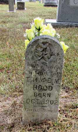 HOOD, INFANT - Lawrence County, Tennessee | INFANT HOOD - Tennessee Gravestone Photos