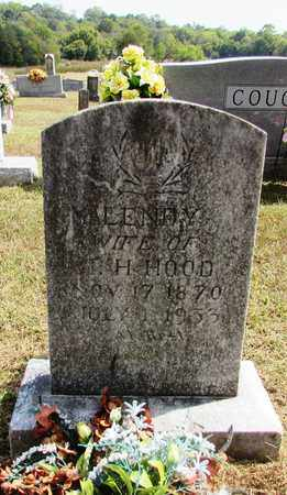 HOOD, MALENDY - Lawrence County, Tennessee | MALENDY HOOD - Tennessee Gravestone Photos
