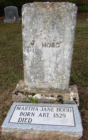 HOOD, MARTHA JANE - Lawrence County, Tennessee | MARTHA JANE HOOD - Tennessee Gravestone Photos