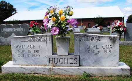 HUGHES, WALLACE D. - Lawrence County, Tennessee | WALLACE D. HUGHES - Tennessee Gravestone Photos