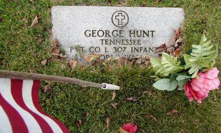 HUNT, GEORGE - Lawrence County, Tennessee | GEORGE HUNT - Tennessee Gravestone Photos