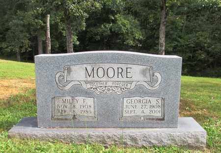 MOORE, GEORGIA S. - Lawrence County, Tennessee | GEORGIA S. MOORE - Tennessee Gravestone Photos