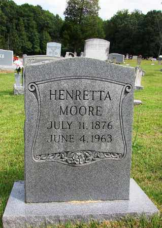 MOORE, HENRETTA - Lawrence County, Tennessee   HENRETTA MOORE - Tennessee Gravestone Photos