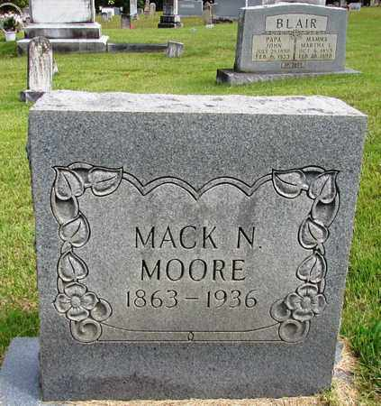 MOORE, MACK N. - Lawrence County, Tennessee | MACK N. MOORE - Tennessee Gravestone Photos