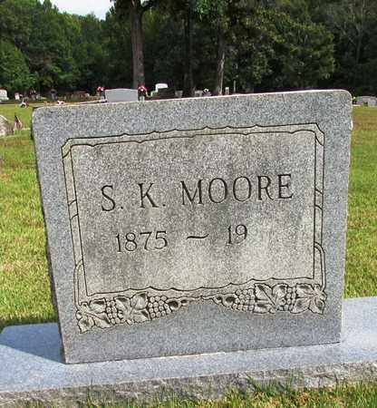 MOORE, S. K. - Lawrence County, Tennessee | S. K. MOORE - Tennessee Gravestone Photos