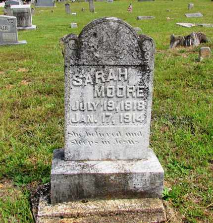 MOORE, SARAH - Lawrence County, Tennessee | SARAH MOORE - Tennessee Gravestone Photos