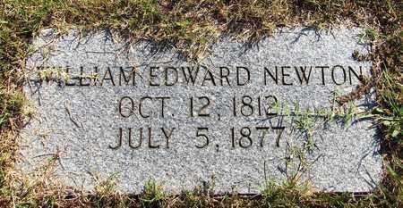NEWTON, WILLIAM EDWARD - Lawrence County, Tennessee | WILLIAM EDWARD NEWTON - Tennessee Gravestone Photos