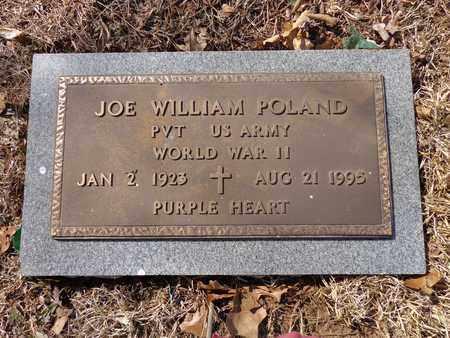 POLAND  (VETERAN WWII), JOE WILLIAM - Lawrence County, Tennessee   JOE WILLIAM POLAND  (VETERAN WWII) - Tennessee Gravestone Photos