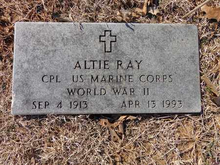 RAY  (VETERAN WWII), ALTIE - Lawrence County, Tennessee | ALTIE RAY  (VETERAN WWII) - Tennessee Gravestone Photos