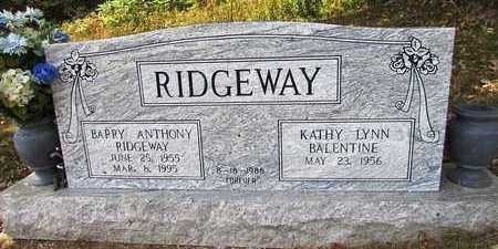 RIDGEWAY, BARRY ANTHONY - Lawrence County, Tennessee | BARRY ANTHONY RIDGEWAY - Tennessee Gravestone Photos